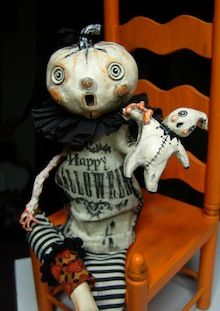 want the little doll that it Is holding halloween Halloween Doll, Halloween Photos, Halloween Projects, Holidays Halloween, Spooky Halloween, Vintage Halloween, Happy Halloween, Halloween Decorations, Rustic Halloween