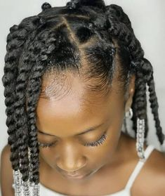 Black Baby Girl Hairstyles, Natural Hairstyles For Kids, Kids Braided Hairstyles, Toddler Hairstyles, School Hairstyles, Ponytail Hairstyles, Hairstyle Ideas, Braids For Kids, Girls Braids