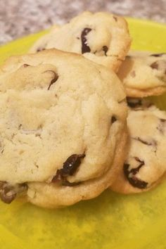 """Pecan Coconut Chocolate Chip Cookies   """"I made these exactly as per the recipe. They are a thick and chewy cookie. The dough was chock full of goodies and was hard to get mixed together but the end result was delicious!"""" #cookies #cookierecipes #bakingrecipes #dessertrecipes #cookieideas"""