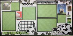AMAZING GRACE: Sports Layouts: Soccer