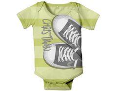 Personalized Hockey Baby Shirt Baby Boy by SimplySublimeBaby