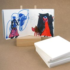 $5 blank board books. Great gifts/stocking stuffers! I love the storytelling possibilities!