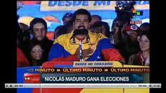 Luego de tensas horas de espera para dar a conocer el boletín de las elecciones venezolanas, los rectores del CNE de Venezuela, dieron a conocer que Nicolás Maduro ganó la elección de este 2013 y sucederá al fallecido Hugo Chávez en la presidencia que comenzó el año pasado y terminará en 2019.