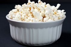 Healthy Microwave Popcorn with Coconut Oil