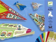 """Origami Aviones ¿Sabes lo que es el arte del ORIGAMI? También conocido como papiroflexia, te va a encantar.. """"Es el arte de origen japonés consistente en el plegado de papel para obtener figuras de formas variadas""""... En   http://www.opirata.com/origami-aviones-p-29003.html"""