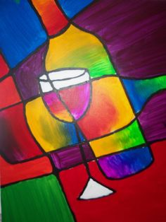 Join us at Pinot's Palette - Leawood on Sat May 2013 for Wine Stained Glass. Seats are limited, reserve yours today! Wine Painting, Food Painting, Afrique Art, Wine And Canvas, Wine Stains, Wine Art, Paint And Sip, Collaborative Art, Paint Party