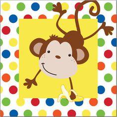 monkey paper napkins - Google Search
