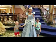 Character Meet and Greets on board the Disney Fantasy 2017! #DisneyCruise