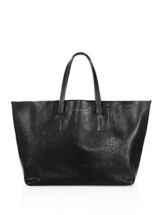 VICTORIA BECKHAM Python Leather Tote.  victoriabeckham  bags  leather  hand  bags   6377c5922064b