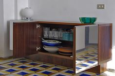 Cabinet with 3 shutters di Capriblueisland su Etsy