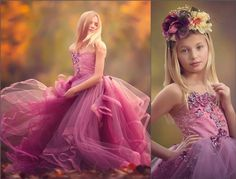 "Anna Triant Couture | Products | Flower Girl Dress | ""Amazing Grace"" Dress"
