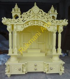 Wood Temple, Mandir designs for home with prices, house Wooden ...