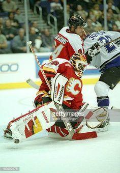 Goalie Gear, Goalie Mask, Ice Hockey Teams, National Hockey League, Calgary, Nhl, Masks, Baseball Cards, Sports