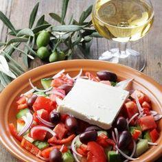 Греческий салат с бальзамическим уксусом рецепт – греческая кухня, салаты с огурцами, вегетарианская еда: салаты. «Афиша-Еда»