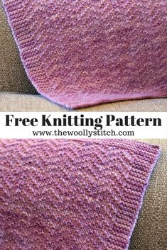 Mabyn Worsted Blanket - Free Knitting Pattern