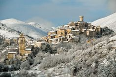 Province of L'Aquila in the Abruzzo region of Italy