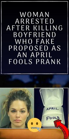 However, sometimes these pranks can go extremely wrong, as has been exhibited by this woman named Lisa, who murdered her boyfriend due to a prank he played Pinterest Photography, Black Friday 2019, Romantic Moments, Women Names, Finding Love, April Fools, Pranks, Family Life, Proposal