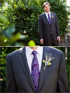 groom style in purple by | CHECK OUT MORE IDEAS AT WEDDINGPINS.NET | #bridesmaids