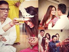 Its just one day to go for their big day and Bipasha Basu and Karan Singh Grover Grover have unleashed the mushiness as they continue their pre-wedding celebrations. The couple performed a traditional Bengali pooja. Bride-to-be Bips couldnt stop smiling on her special day. Harik Basu was the portrait of a content father as he blessed his darling daughter. Bipasha opted for her favourite colour pink for the occasion and took to social media to share some adorable snaps of her with Karan…
