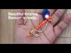How to make Jhula for bal gopal at home Krishna Flute, Bal Krishna, Radhe Krishna, Lord Krishna, Krishna Art, Shiva, Happy Janmashtami, Krishna Janmashtami, Krishna Birthday