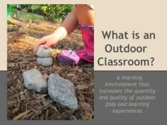 What an outdoor classroom looks like, a short video to give you an idea how creative children are !