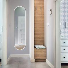 Lustro Ambient – białe do przedpokoju | GieraDesign Bathtub, Home Appliances, Cabinet, Mirror, Storage, Furniture, Home Decor, Standing Bath, House Appliances