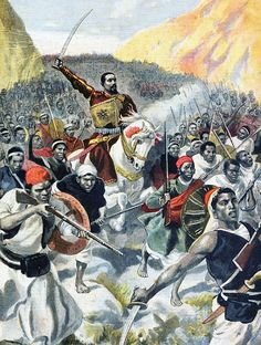 Battle of Adowa: Ethiopia Advance. Ethiopian forces inflicted the most casualties of ANY major battle of the 19th century. Furthermore, they used modern arms effectively with one of their artillery batteries playing a key role in the battle, out-gunning artillery fired by the Italian forces at a crucial phase.