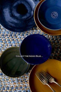 【インディゴブルーが主役のカジュアルテーブル】Klastyling掲載*|N's Color Style*