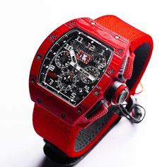 Red TPT Quartz is a limited edition 50 pieces and will be available at the boutiques. by milleaholic Luxury Watches, Rolex Watches, Watches For Men, Richard Mille, Daniel Wellington, Home Luxury, Hand Watch, Design Furniture, Men's Watches