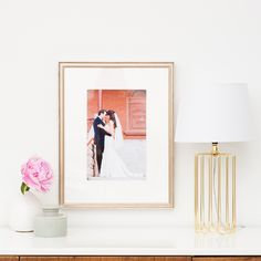"""""""We love the idea of uploading Instagram photos of your girls or couple and sending everyone home with a custom frame (for only $39, each)!"""" - @btcheswhobrunch"""