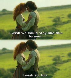 """""""I wish we could stay like this forever"""" - Ross & Demelza #Poldark"""