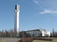 Lakeuden Risti Church in Seinajoki by Alvar Aalto #sarjaton