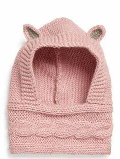 Knitted Baby Booties & Free Pattern & Stricken ist so einfach wie 3 Das St& Baby Hats Knitting, Knitting For Kids, Crochet For Kids, Free Knitting, Knitting Projects, Crochet Baby, Knitted Hats, Knitting Patterns, Knit Crochet