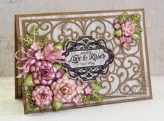 Designs by Marisa: JustRite Papercraft January Release - Spring Wishes Vintage Labels Eight Clear Stamps