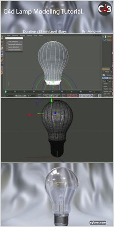 This is lamp modeling tutorial by cinema 4d.#c4d,#tutorial,#cinema4d,#3Dmodeling