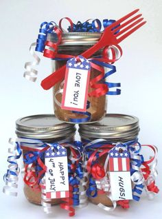 Snickerdoodle Cake-in-a-Jar | The Monday Box #4thofjuly #cakeinajar #militarycarepackagerecipe