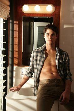 I can't even... Darren Criss...