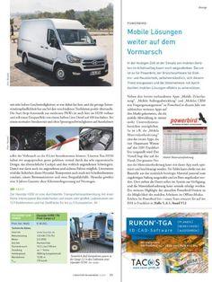 Testfahrtbericht Hyundai H350 in Computern im Handwerk 1-2/2017 auf den Seiten 22 und 23: Durchdachter, überraschend großer Transporter
