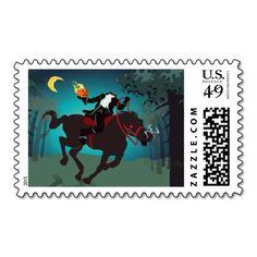 Headless Horseman of Sleepy Hollow Stamp