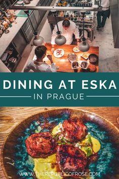 Calling all foodies visiting Prague: Eska is a must! This Michelin Bib Gourmand restaurant offers incredible food, a bakery and a hip vibe. #Prague