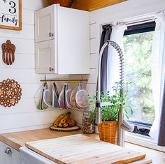 Tour this kid-friendly modern rustic camper remodel! | Mountain Modern Life