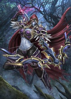 World of Warcraft: Battle for Azeroth World Of Warcraft Game, Warcraft 3, Lady Sylvanas, Ashe League Of Legends, World Of Warcraft Wallpaper, Sylvanas Windrunner, Overwatch, Night Elf, Heroes Of The Storm