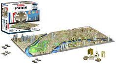 Jigsaw Puzzle-Paris, France 4D