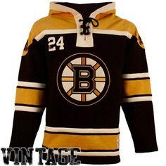 Old Time Hockey Boston Bruins Lace Jersey Team Hoodie - Black Gold Nhl  Boston Bruins 1b5d2966c