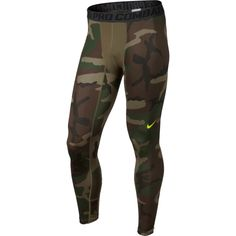 Nike Men's Pro Combat Core Compression Camo Tights | DICK'S Sporting Goods
