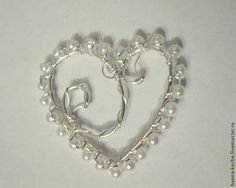 Simple heart of wire. Discussion on LiveInternet -