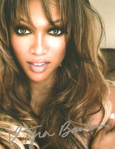 #Tyra Banks #autograph - Know where to get free #fanmail addresses for autographs? Click to find out now.