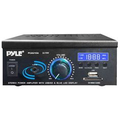 Pyle Street Blaster 1000 Watt Rugged & Portable Bluetooth