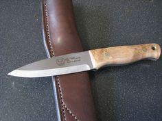 Stewart Marsh Custom Bushcraft Knife