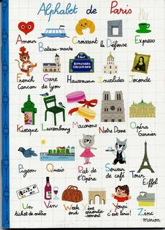 Paris alphabet